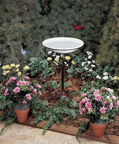 Cheap Allied Precision 20 in. Bird Bath w/ Metal Stand (non-heated) (B005UJ6NMA)