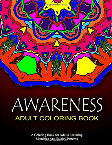 AWARENESS ADULT COLORING BOOK - Vol.4: relaxation coloring books for adults: Volume 4