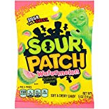 Sour Patch Kids Sweet and Sour Gummy Candy (Watermelon, 5-Ounce, Pack of 12) (Tamaño: 5 Ounce, Pack of 12)