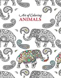 img - for Art of Coloring Animals   Leisure Arts (6807) book / textbook / text book