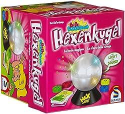 Schmidt Spiele GmbH Schmidt Spiele Bibi Hexenkugel Bibi und ihre Freundinnen befragen heimlich Barbaras HEXENKUGEL. Da diese ihre HEXENKUGEL mit einem Sicherungshexspruch versehen hat, erleben die Junghexen eine Überraschung, und lauter verrückte Din...