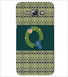 PrintDhaba GRANDbet Q D-6034 Back Case Cover for SAMSUNG GALAXY E7 (Multi-Coloured)