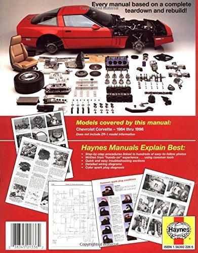 Chevrolet Corvette 1984 Thru 1996 (Haynes Automotive Repair Manuals)