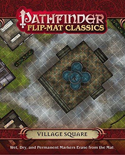 Pathfinder Flip-Mat Classics: Village Square (Pathfinder Flip-Mats Classics)
