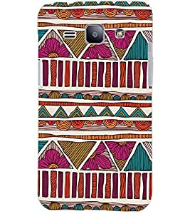 PrintDhaba MULTICOLOR DESIGN D-6822 Back Case Cover for SAMSUNG GALAXY J1 (Multi-Coloured)