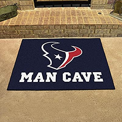 "Houston Texans Man Cave All-Star Rug 34""x45"" - FAN-14308"