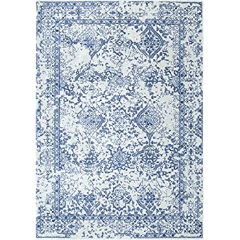 "nuLOOM Vintage Odell Area Rug, Light Blue, 7' 10"" x 10' 10"""