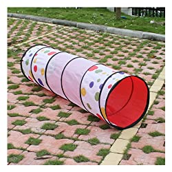 Waterproof Kids Play Tunnel - Dot Design Kids Tent