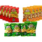 Inka Crops Plantain Chips Variety Pack (4 each of 3 different flavors)