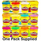 Playdoh 4 Tub Pack