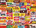 White Mountain Puzzles Candy Wrappers - 1000 Piece Jigsaw Puzzle by White Mountain Puzzles