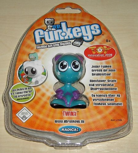 Picture of Radica/Mattel Twinx Rare U.B. Funkeys Series 1 Figure (B0015G5CXS) (Radica/Mattel Action Figures)