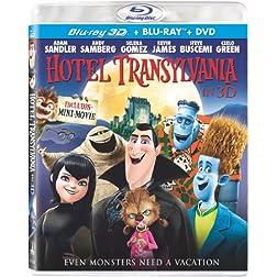 Hotel Transylvania (Blu-ray 3D / Blu-ray / DVD + UltraViolet Digital Copy)