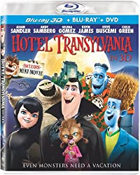 Hotel Transylvania (Blu-ray 3D / Blu-ray / DVD + UltraViolet Digital Copy)