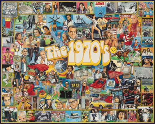 White Mountain Puzzles The Seventies - 1000 Piece Jigsaw Puzzle