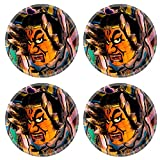 Liili Natural Rubber Round Coasters IMAGE ID 32483892 Nebuta one of the traditional Japanese festival