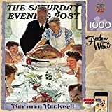 MasterPieces Saturday Evening Post Norman Rockwell Freedom From Want Jigsaw Puzzle, 1000-Piece