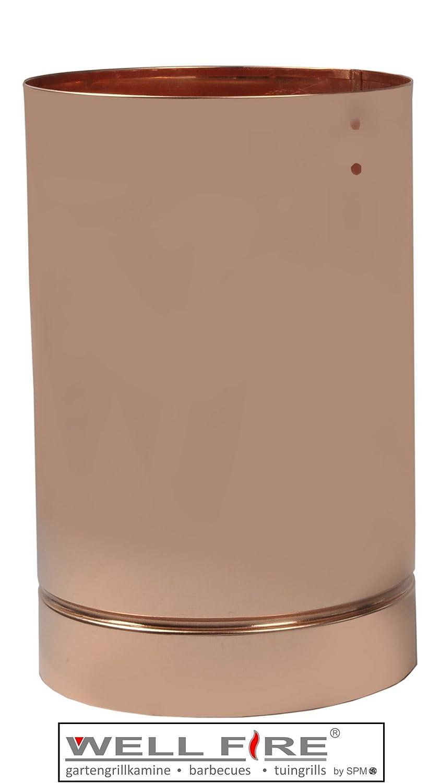 Haubenverlängerung Kupfer (RUND) / Wellfire günstig online kaufen