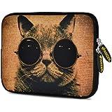Amzer 7.75 Inch Neoprene Sleeve Shocked Cat For Samsung GALAXY Tab 2 7.0, Google Nexus 7, Amazon Kindle Fire HD...