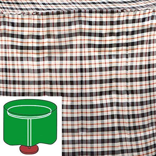 Gärtner Pötschke Tisch-Schutzhülle, beige, rund, groß günstig kaufen