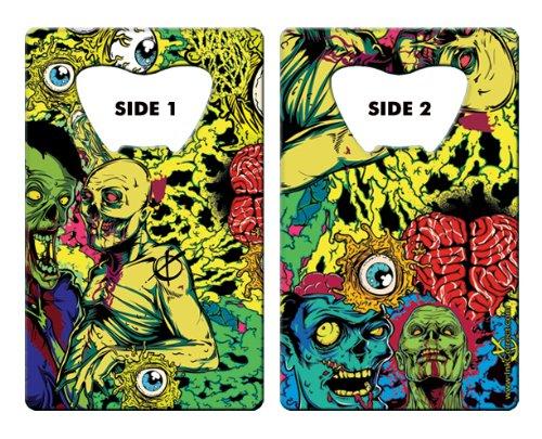 The Inked Card Bottle Opener: Eye Heart Zombies