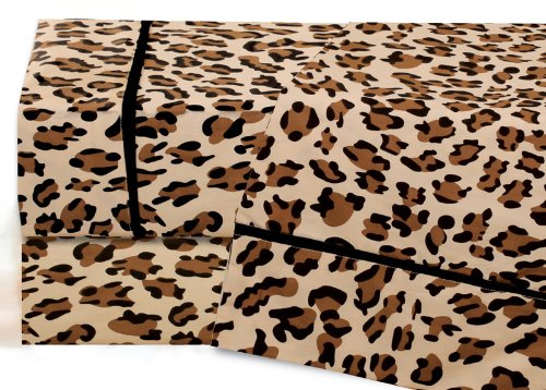 Leopard Sheets King front-1021406