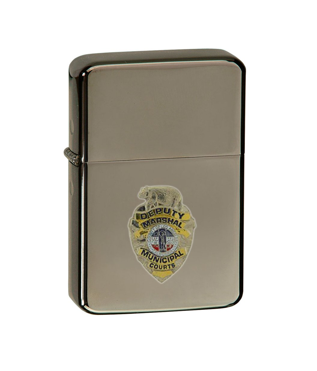Vector KGM Thunderbird Emblem Sparkle Black Lighter - Law Enforcement Pin Collector Series - Police Badge Pins - Los Angeles, CA Deputy Marshall