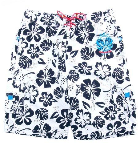 Smith & Jones 'Wainani' Beach Shorts + FREE Flip-Flops