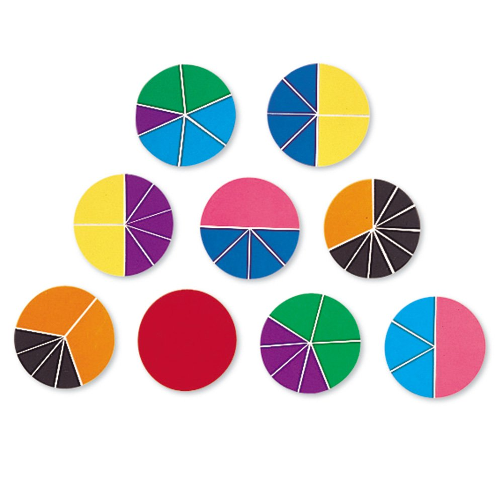 Best Math Resources For Hands On Learning on Circle Fraction Pieces