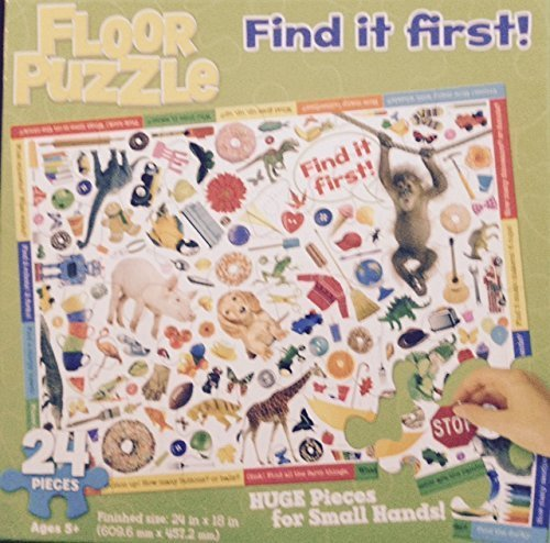 Bendon Find It First 24 Piece Jigsaw Puzzle