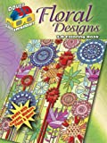 3-D Coloring Book--Floral Designs (Dover 3-D Coloring Book)