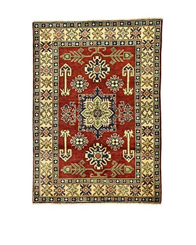 ZZ-L'Eden del Tappeto Teppich Uzebekistan mehrfarbig 104 x 147 cm