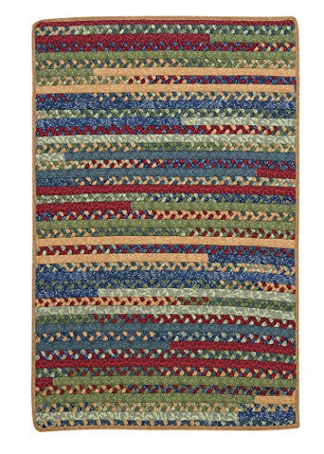 Market Mix Rect Rug, 2 by 3-Feet, Sea Glass