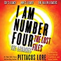 I Am Number Four: The Lost Files: The Legacies Audiobook by Pittacus Lore Narrated by Devon Sorvari, Jeff Brick, Kaleo Griffith