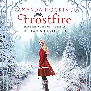 Frostfire Audiobook by Amanda Hocking Narrated by Eileen Stevens