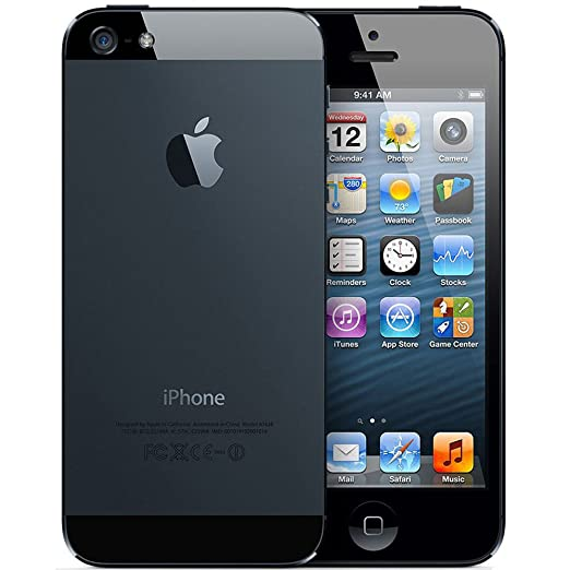 Apple iPhone 5  White Silver, 32  GB  available at Amazon for Rs.10000