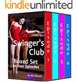 Swingers Club Box Set (Bisexual Menage Romance): All Four Episodes Value Priced! (Swinger's Club Book 5)