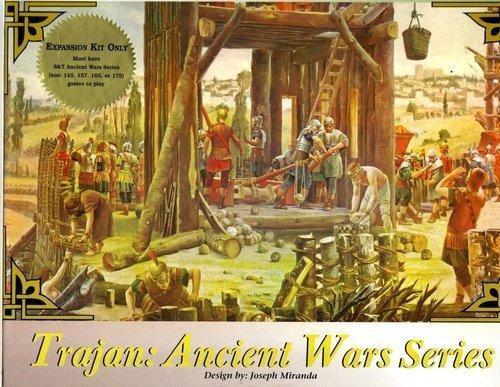 DG: Trajan Ancient Wars Game Series Expansion Kit (Trajan Board Game compare prices)