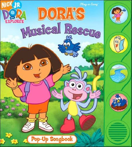 Dora's Musical Rescue Pop-up Sound Book (Dora the Explorer (Publications International))
