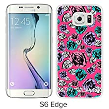 buy Betsey Johnson(2) White Samsung Galaxy S6 Edge Screen Cover Case Luxurious And Fashion Design