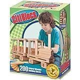 CitiBlocs 200-Piece Natural-Colored Building Blocks