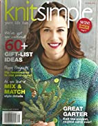Knit Simple Magazine (Holiday 2013) by…