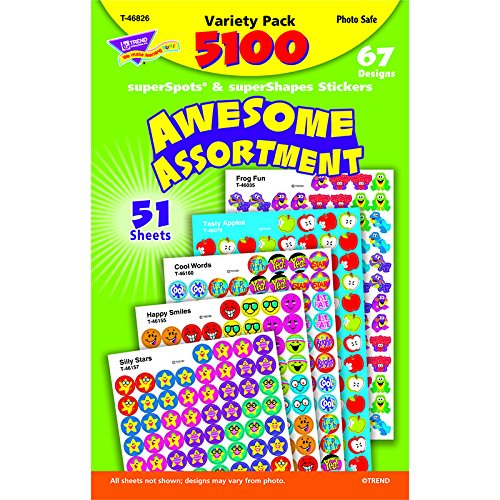 Awesome-Assortment-SuperSpots-SuperShapes-Stickers-Variety-Pack-5100-Stickers