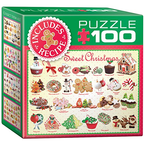 EuroGraphics Sweet Christmas Mini Puzzle (100-Piece)