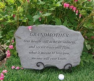 LARGE Grandmother Inspirational Memorial Stone