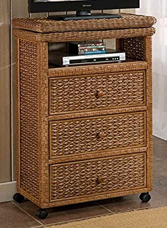 Tall TV Cart with Casters