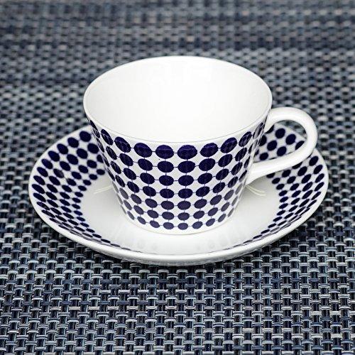 Gustavsberg ADAM トゥールトゥール Coffee Set コーヒーセット Blue/White ブルー/ホワイト 洋食 食器 おやつ