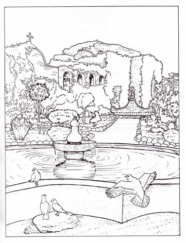 missions coloring pages - photo#8