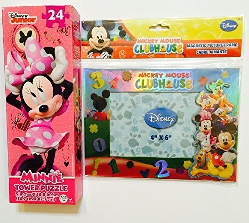 Disney Minnie Mouse 24 Piece Tower Jigsaw Puzzle (Assorted, Designs Vary) - 1