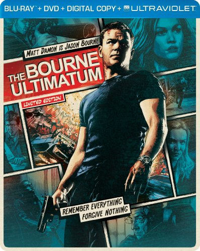 The Bourne Ultimatum (Steelbook) (Blu-ray + DVD + DIGITAL with UltraViolet) - Christopher Rouse